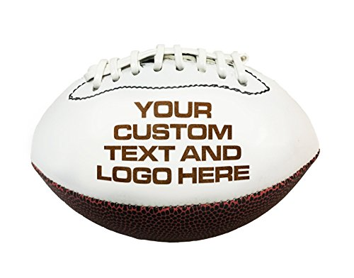 Custom Personalized 3D Laser Engraved Miniature Customized Toy 7 inch Football