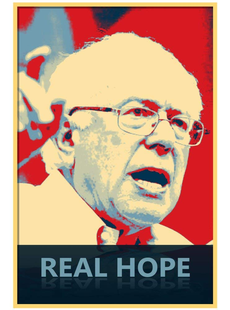 Vinyl Print Poster - 18x24 Real Hope - Presidential Candidate Design