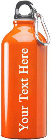 Customized 3D Laser Engraved Personalized 17 oz Stainless Steel Water Bottle