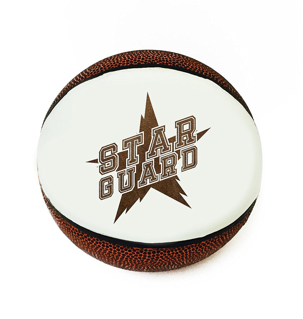 Star Guard Position 3D Laser Engraved Miniature Toy 5 inch Basketball Trophy Award Recognition