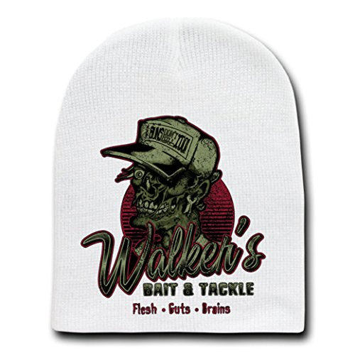 'Walkers' TV Show Parody - White Adult Beanie Skull Cap Hat