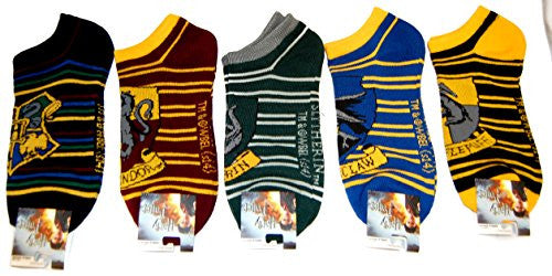 Harry Potter Crests Ankle Socks SET of SIX