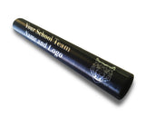 Custom Black Aluminum Track and Field Relay Baton Personalized Gift - Your Team Name and Logo Engraved