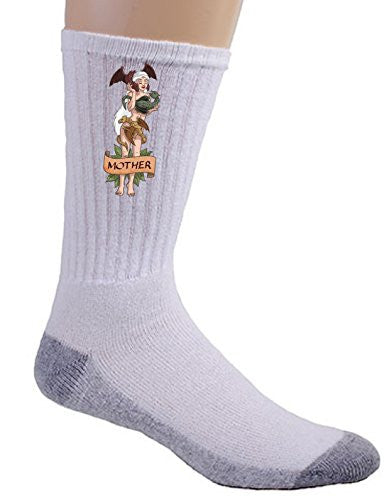'Mother of Dragons' Medieval TV Show Parody - Crew Socks
