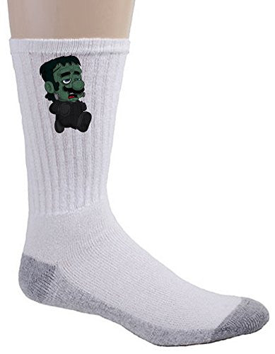 Crew Socks - 'Frankenplumber' Movie & Game Parody
