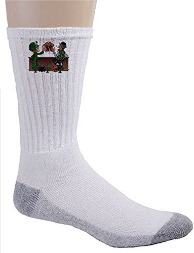 'Irish Drinking Buddies' Funny Parody - Crew Socks
