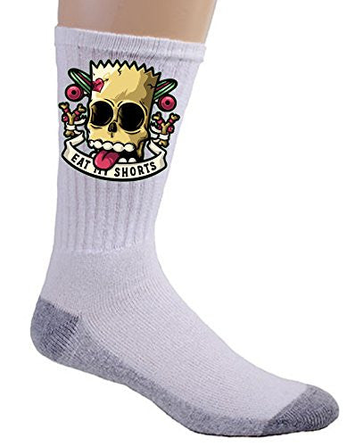 'Bad to the Bone' Cartoon Parody - Crew Socks
