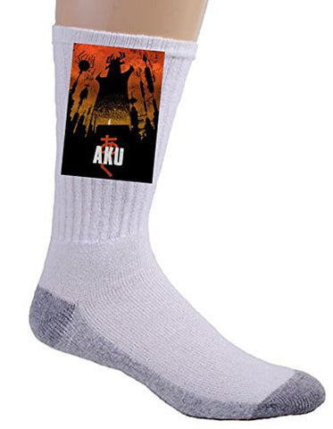 'Akaiju' Cartoon & Monster Parody - Crew Socks
