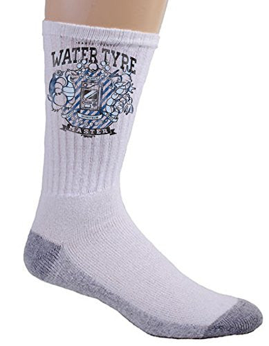 'Water Type' Anime TV Show Parody - Crew Socks