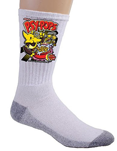 'Psy Pops' Anime TV Show Parody - Crew Socks