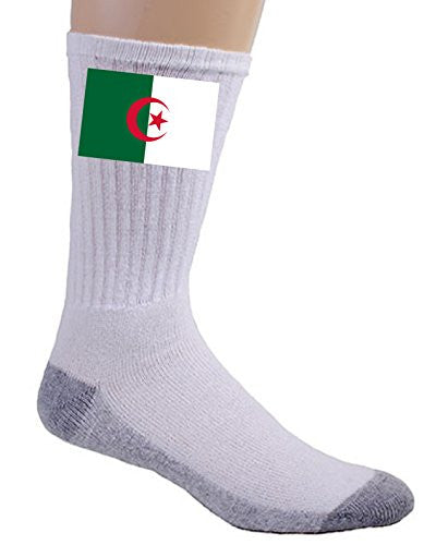 Algeria - World Country National Flags - Crew Socks