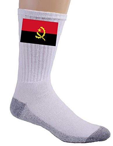 Angola - World Country National Flags - Crew Socks