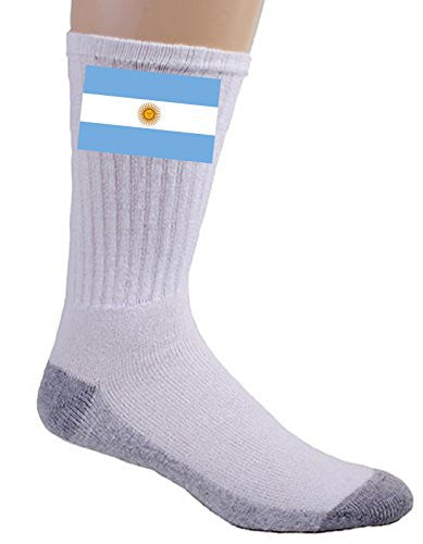Argentina - World Country National Flags - Crew Socks