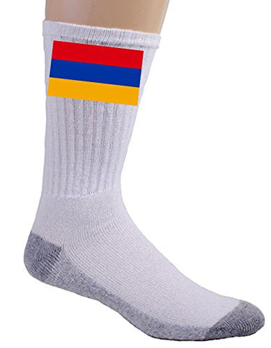Armenia - World Country National Flags - Crew Socks