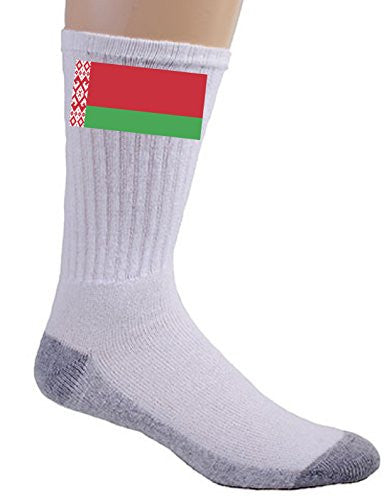 Belarus - World Country National Flags - Crew Socks