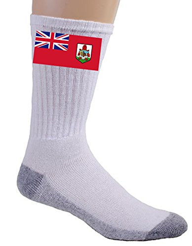 Bermuda - World Country National Flags - Crew Socks