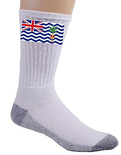 British Indian Ocean Territory - World Country National Flags - Crew Socks