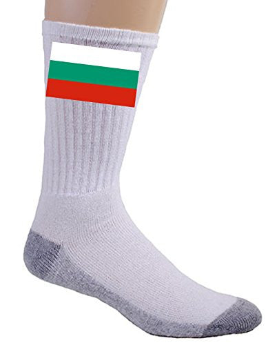 Bulgaria - World Country National Flags - Crew Socks