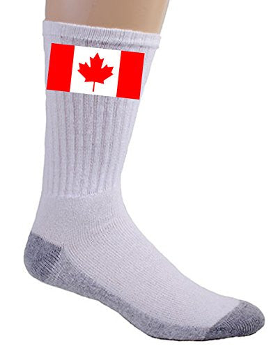 Canada - World Country National Flags - Crew Socks