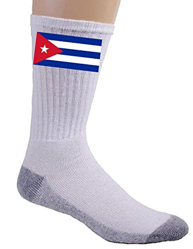 Cuba - World Country National Flags - Crew Socks