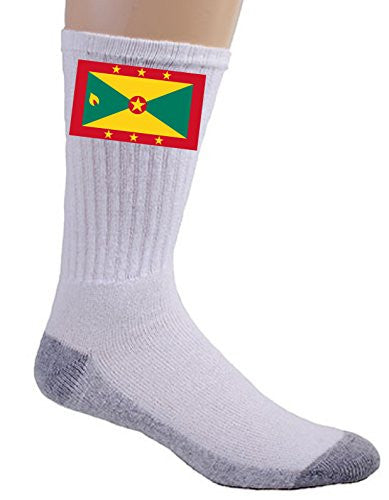 Grenada - World Country National Flags - Crew Socks