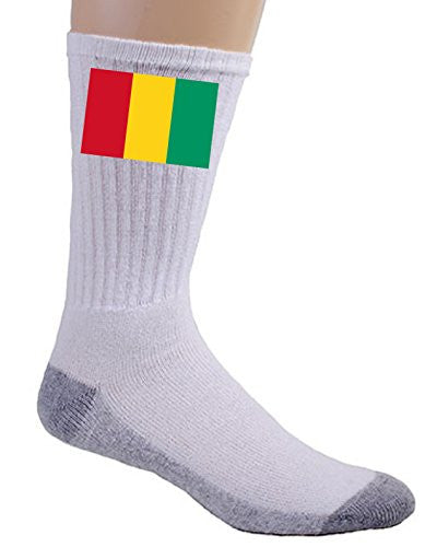 Guinea - World Country National Flags - Crew Socks