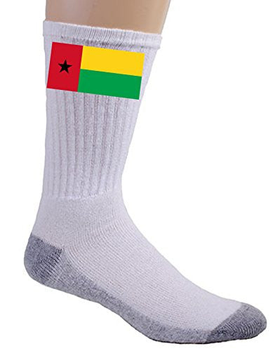 Guinea-Bissau - World Country National Flags - Crew Socks