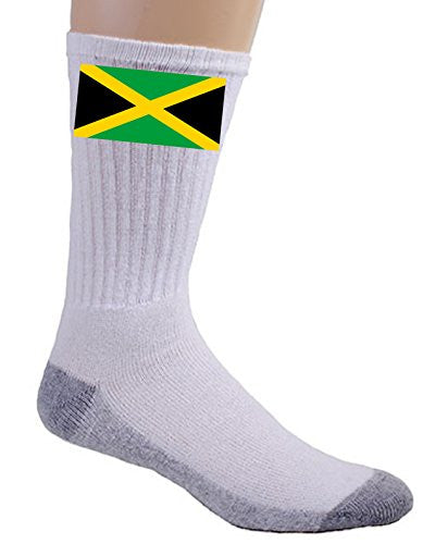 Jamaica - World Country National Flags - Crew Socks