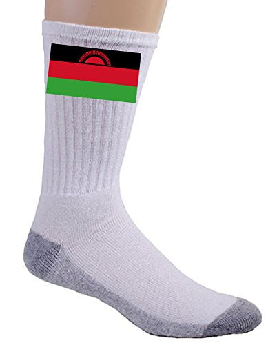 Malawi - World Country National Flags - Crew Socks