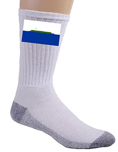 Navassa Island - World Country National Flags - Crew Socks