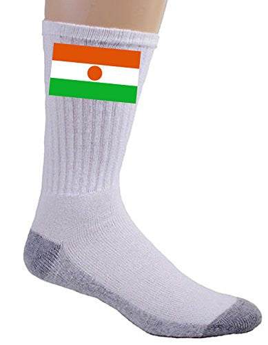 Niger - World Country National Flags - Crew Socks