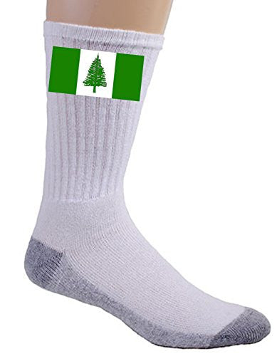 Norfolk Island - World Country National Flags - Crew Socks
