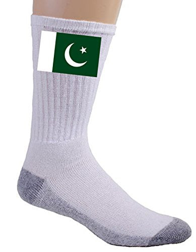 Pakistan - World Country National Flags - Crew Socks