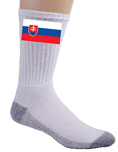 Slovakia - World Country National Flags - Crew Socks