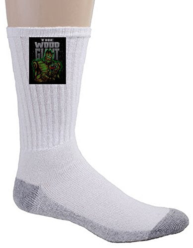 Crew Socks - The Wood Giant - Parody Design