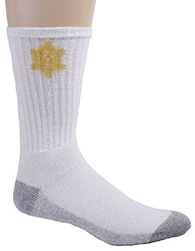Crew Socks - Triforce Snowflake - Parody Design