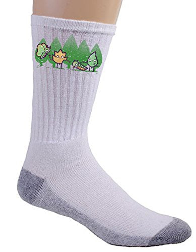 'He's Just A Pup' Pet Bugs Humor - Crew Socks