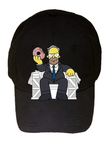 Cartoon TV Show 'Homer Underwood' Political TV Show - 100% Cotton Adjustable Cap Hat