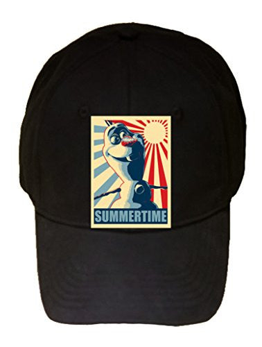 'SUMMERTIME' Funny Singing Snowman Movie Parody - 100% Cotton Adjustable Hat