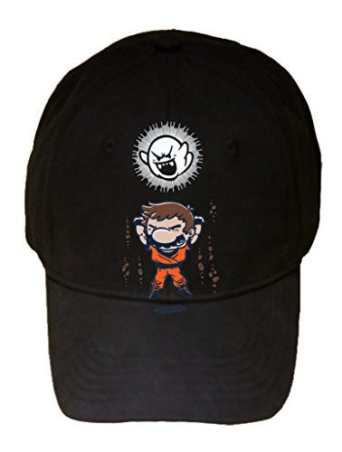 'Spirit Bomb' Cartoon & Video Game Parody - 100% Cotton Adjustable Hat