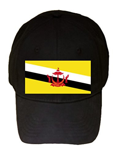 Brunei - World Country National Flags - 100% Cotton Adjustable Hat