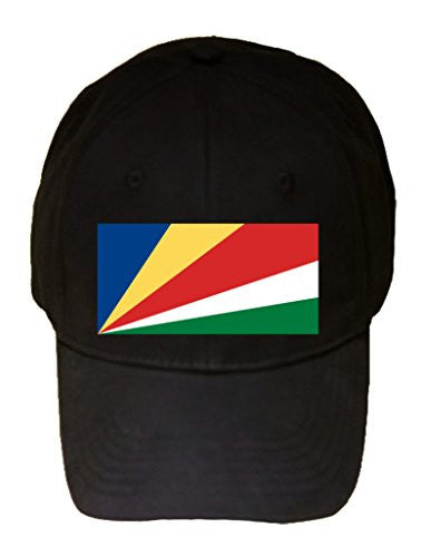 Seychelles - World Country National Flags - 100% Cotton Adjustable Hat