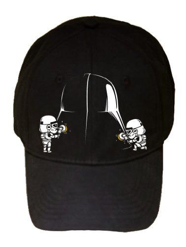 'Polishing' Space Movie Parody Villain Helmet Cleaned by Troops - 100% Adjustable Cap Hat