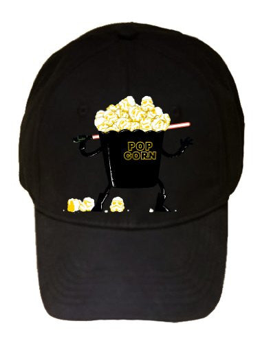 'Pop Corn Kingdom' Space Movie Parody w/ Popcorn & Sword - 100% Adjustable Cap Hat