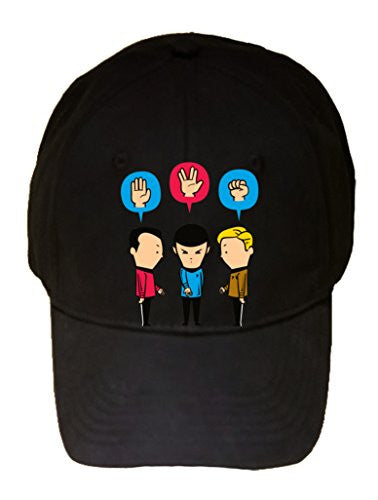 'Paper, Scissors, Rock' Funny Space Show Parody - 100% Adjustable Cap Hat