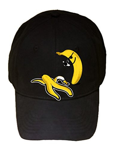 'Murder' Funny Banana & Peel Homicide Scene of the Crime - 100% Adjustable Cap Hat