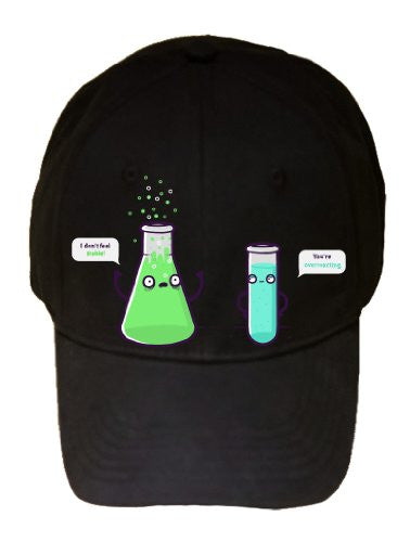'Over reacting' In Beaker Chemicals Don't Feel Stable - 100% Adjustable Cap Hat