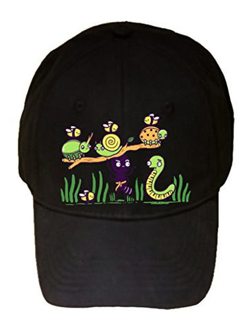 'Ant Strong Man' Cute Insect Bug Muscles - 100% Adjustable Cap Hat