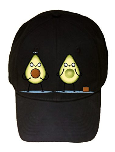 'Avocado Baby' Fruit & Seed Couple Humor - 100% Adjustable Cap Hat