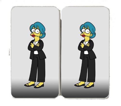 Cartoon TV Show 'Marge Underwood' Parody of Political TV Show Logo - Taiga Hinge Wallet Clutch